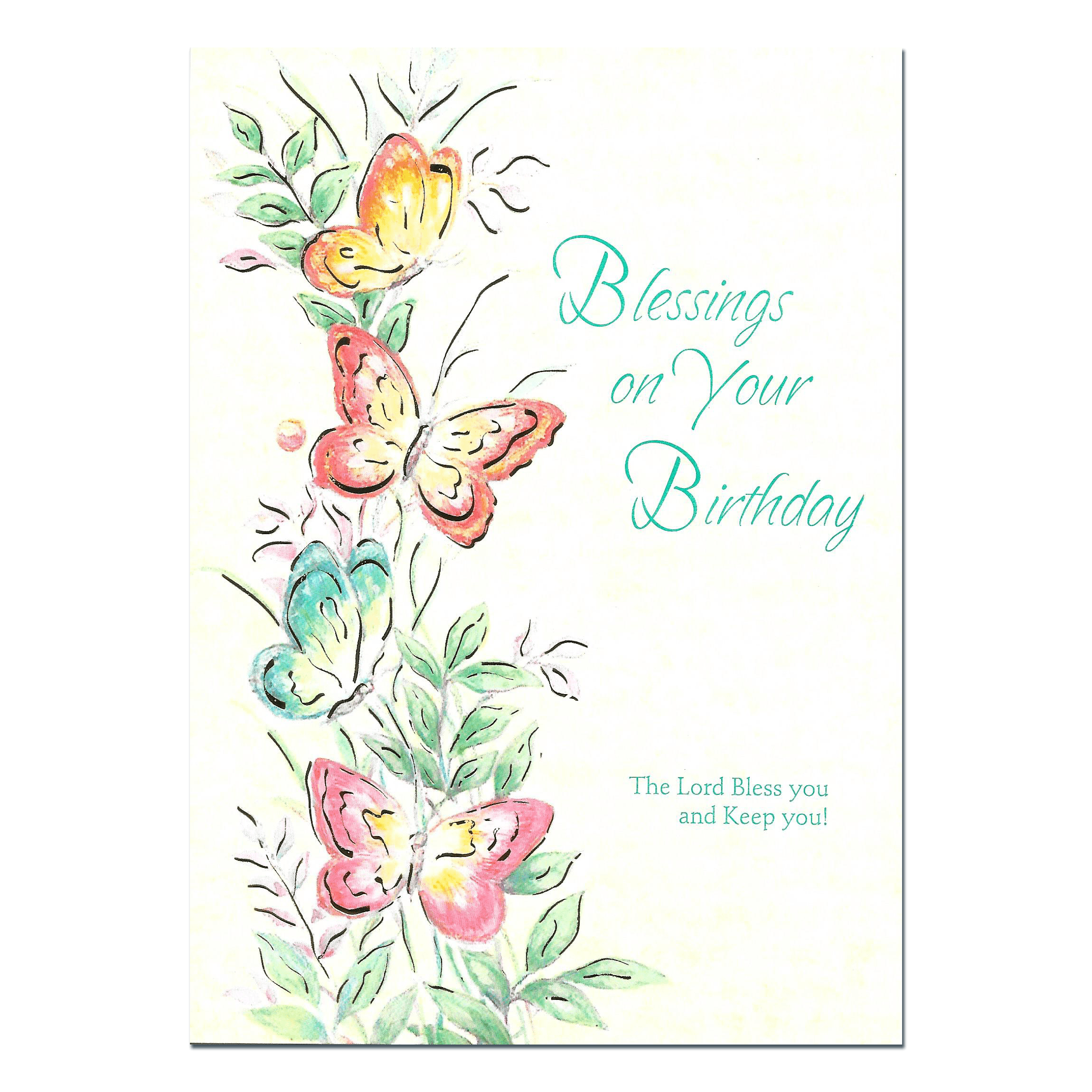 Birthday Blessings flowers & bible verse - Send this ...  |Birthday Blessings